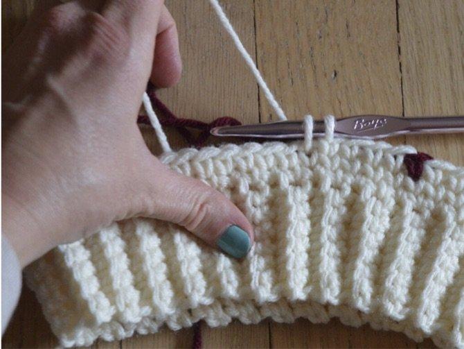 crochet stitch tutorial center single crochet