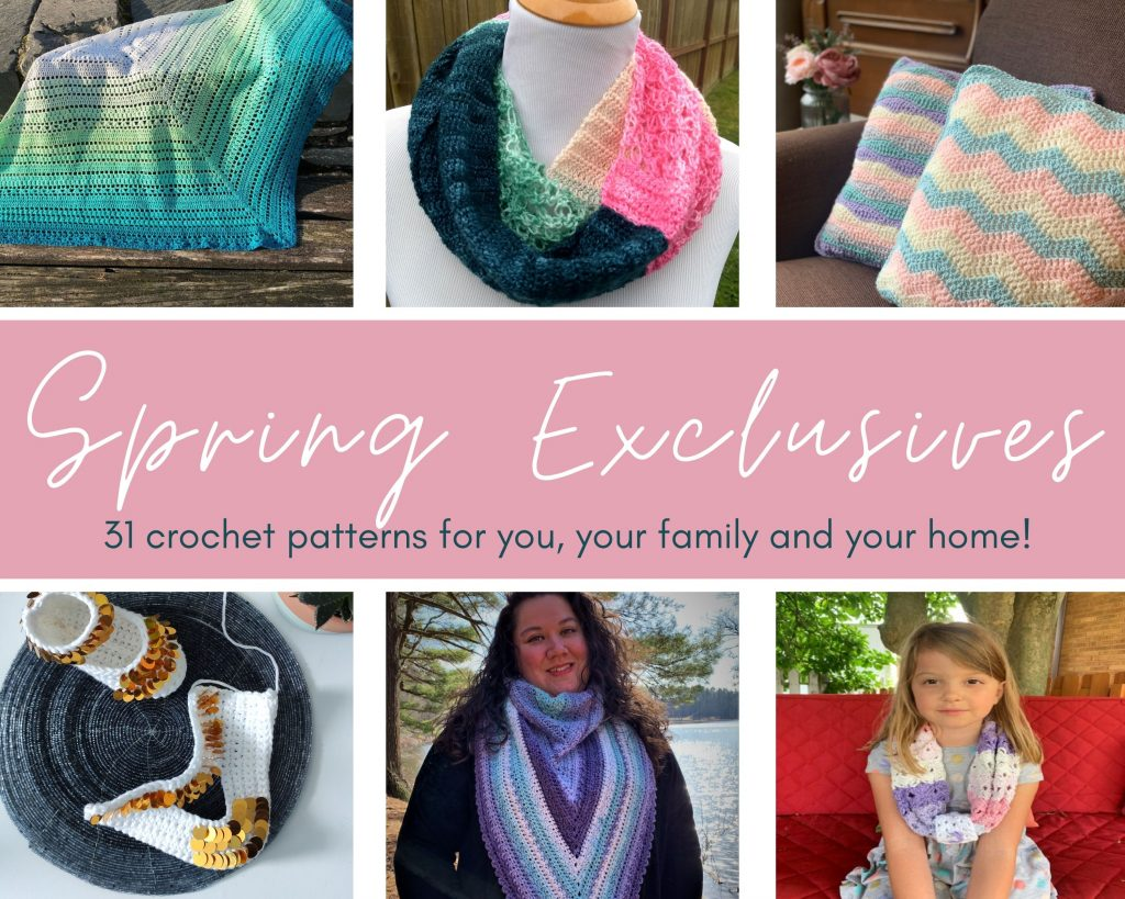 spring exclusives crochet